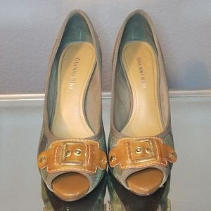 Camouflage Heels,Good Condition. A few Minor Flaws